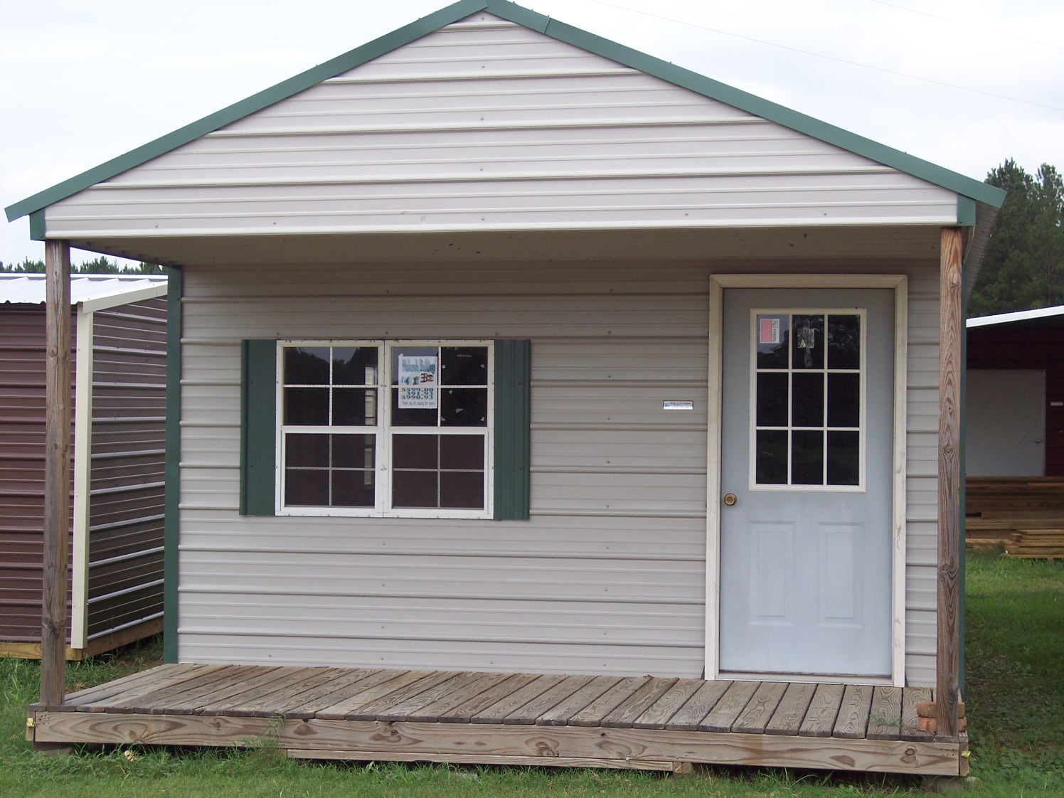 Storage Sheds With Front Porches Image