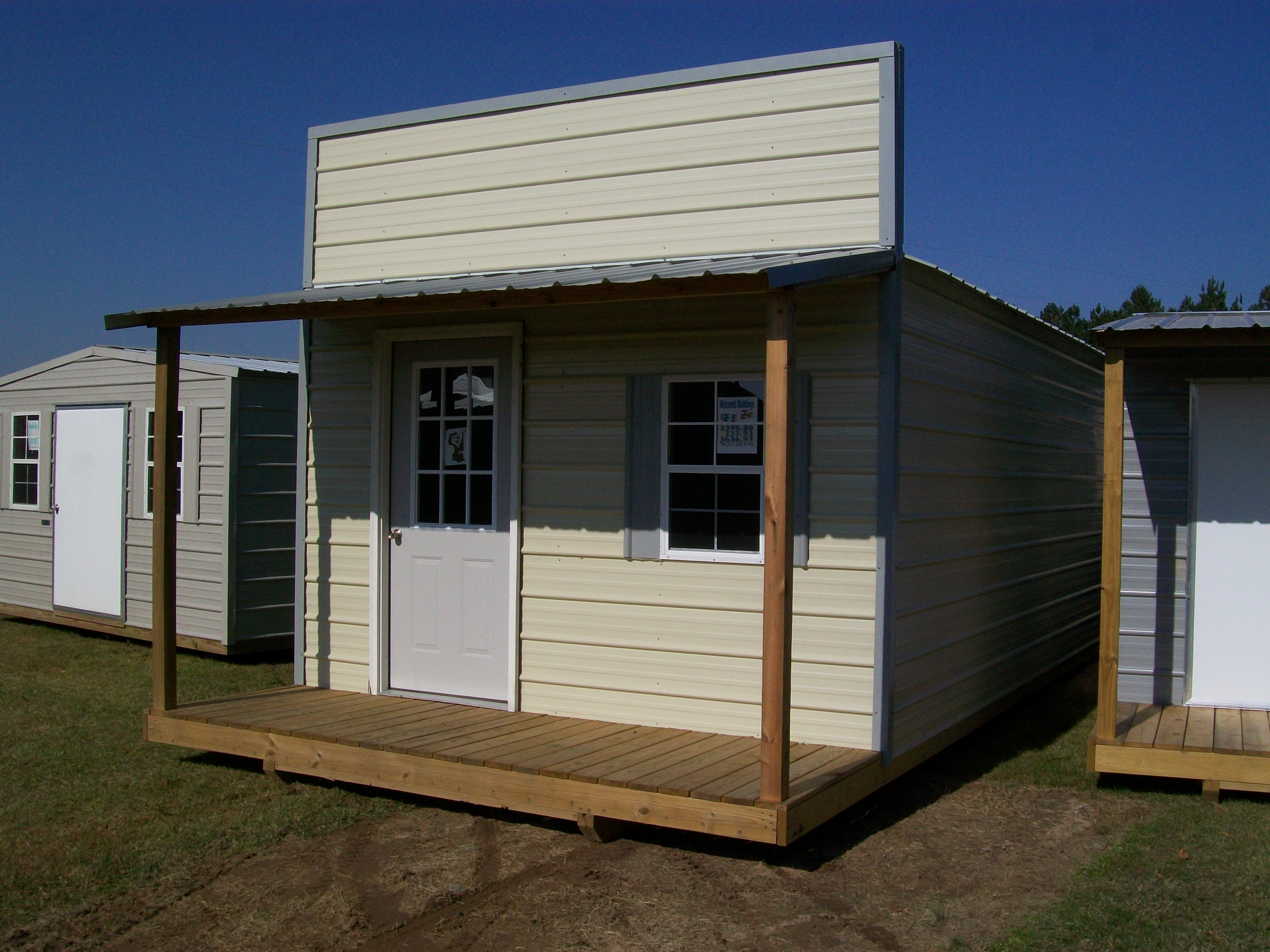 Storage sheds with front porches image for Shed with porch